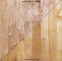Superior Finished Flooring Sample. Sugar Hard Maple.